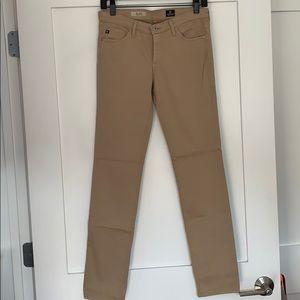 AG Size 27 The Stilt Cigarette Leg Jeans-Nubuck